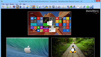 Easy-to-use remote control for Windows, Linux, and Mac OS X